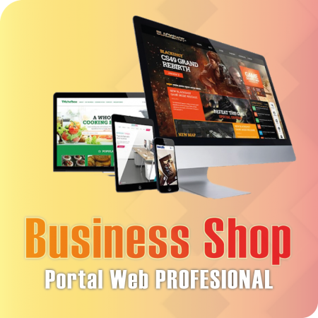 Portal Web Business Shop
